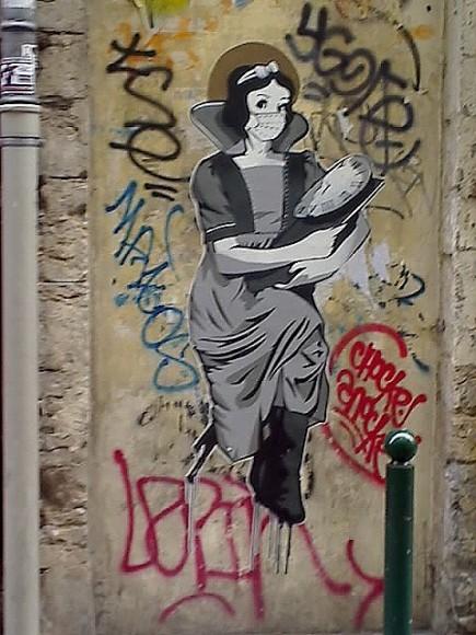 Blanche-Neige Lyon, rue Longue, non signé